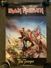 "Iron Maiden PowerslaveThe Trooper 1984 Poster (22"" x 34"")"