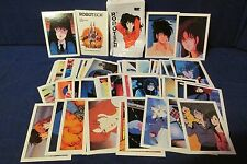 Robotech the Macross Saga FTCC 1986 complete 60 Card Base Set & Wrapper
