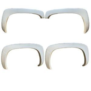 For 99-06 Chevy Silverado Sierra Painted White #8624 Fender Flares OE Style 4PCS