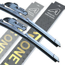 "Front Premium Aero Wiper Blades - Pair Windscreen Window 24"" + 20"" V1"