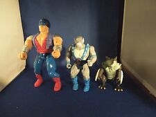Vintage Retro Lot of Action Figures-Kaiju Monster, Panthro & Greywolf From Conan