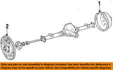 FORD OEM 87-00 E-150 Econoline Club Wagon Rear Brakes-Brake Drum YL3Z1V126D