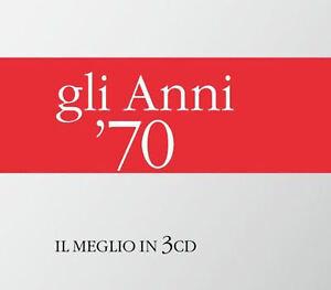 SONY MUSIC ENTERTAINMENT ANNI '70 IL MEGLIO IN 3 CD (3 CD) 0339345