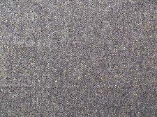 100% Wool Donegal Herringbone Tweed Fabric 1.3 m