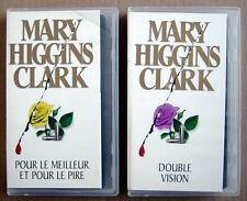 2 CASSETTES VHS EN FRANÇAIS, DE 1992, POUR LE MEILLEUR & POUR LE PIRE + DOUBLE V