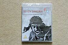 BLU RAY SEVEN SAMURAI   AKIRA KUROSAWA    BRAND NEW SEALED UK STOCK
