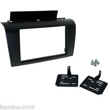 CT24MZ07 MAZDA 3 2004 to 2009 1ST GENERATION BLACK DOUBLE DIN FASCIA ADAPTER KIT