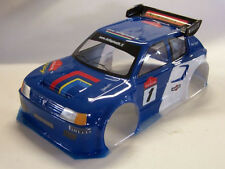 1/8 Peugeot 205 rally RC Car Body Shell 1.5mm Ofna GT Traxxas Slash Serpent 0153