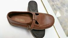 Dexter 5.5 M Brown Soft Leather Mary Janes Style w/Buckle Adjustable Fastening