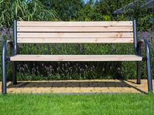 Banco de Jardín parque 170cm con respaldo patio