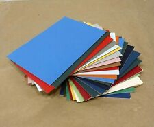 Lot Of 20 - 5x7 Mat Board Blanks Multi-Colors Picture Photo Backing Free Ship