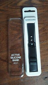 Genuine Samsung Gear S4 Active silicone band black