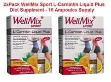 2xPack WellMix Sport L-Carnitine Liquid (Gluten FREE) Diet Supplement *GERMANY*