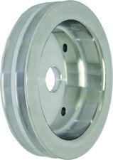 BB Chevy Aluminum 2 Groove BBC Short Water Pump Crank Pulley 396 427 454 V8