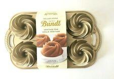 Williams Sonoma Nordic Ware Mini Heritage Bundt Cake Pan