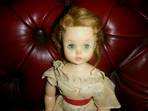 VINTAGE MADAME ALEXANDER DOLL ? KELLY 1958 FOR REPAIR 15 INCHES
