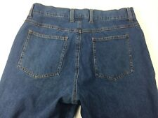 Denim & Co Womens size 12P Cross Stretch Jeans Boot Leg Medium Wash Stretch 12P