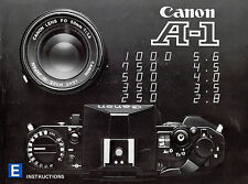 Canon A-1 Instruction Manual (PDF) 00013