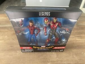 Spider-Man And Iron Man Homecoming Double Pack NIB