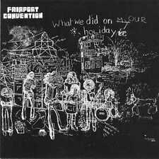 Fairport Convention-What we did on our holidays + 2 bonus - (UK 1969) CD