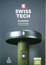 SwissTech Klassisch USB Rechargeable 1200 Lumens LED IPX7 Waterproof flashlight