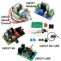 LED LM317 Speed Control Adjust Regulate Step down Buck Power Supply Module Kit