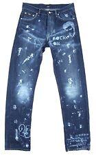 HUGO BOSS Unique Custom Made Mens Denim Jeans W 33 x 34 L Dark Blue Rare VGC