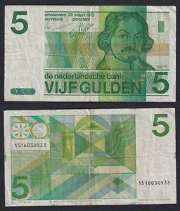 Olanda 5 gulden 1973 BB/VF  A-01