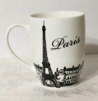 """Circa """"Paris"""" White Coffee Mug Tea Cup Eiffel Tower"""