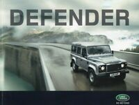 Land Rover Defender 2011 UK Brochure 90/110/130/Pick Up/Hard Top/Station Wagon