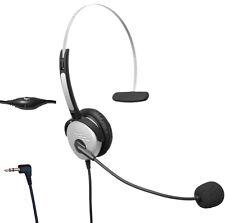 T100 PANASONIC KX-T7730 KX-T7750 TX310 noise cancelling 1 ear headset 2.5mm