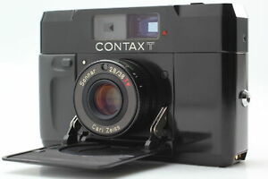 NEAR MINT+3 Read Contax T BLACK Rangefinder 35 Film Camera From JAPAN