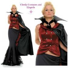 Deluxe Halloween Vampire Costume Gothic Mistress Queen Size 14