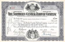 The Northern Central Railway Compagny Certificate 1955 (4587)