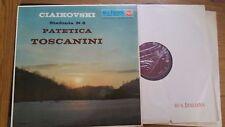 ARTURO TOSCANINI NBC ORCHESTRA CIAIKOVSKI No 6 PATETICA - LM 1036- LP