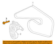 GM OEM Belt or Pulley-Tensioner Upper Bolt 11588728
