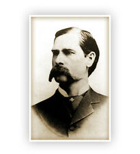 Wyatt Earp Vintage Photograph Poster Print Photo Old West Cowboy
