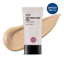 [The Face Shop] FRESH FOR MEN Sun BB Cream SPF50+ PA+++ 50ml - MARVEL Edition