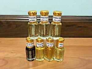 (6ml) Big Selection of Surrati Oil Perumes Musk Dehn Oud Tahara Arabic Islamic