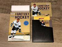 Wayne Gretzky Hockey Nintendo Nes Complete CIB Near Mint Condition Authentic