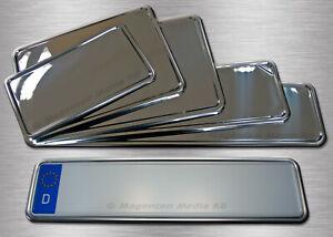 Edelstahl (V2A) Kennzeichenunterlagen, Kennzeichenhalter, Kennzeichenverstärker