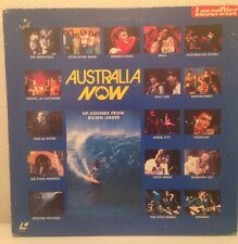 AUSTRALIA NOW MP158-25VP MENTAL AS ANYTHING INXS COLD CHISEL LASERDISC