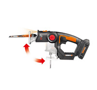 WORX WX550L.1 Axis 20V PowerShare Cordless Reciprocating & Jig Saw