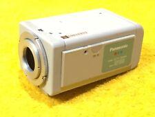 Perfect Panasonic Wv-Cp100 Color Cctv Tv Video Camera