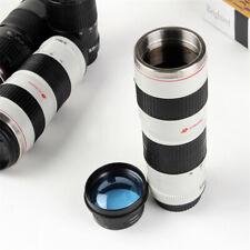 Camera Lens Coffee Mug Stainless Steel Travel Lens Mug Thermos Photographer Gift
