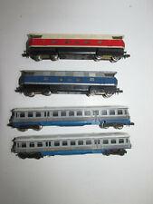 Piko 2 Diesel Locomotives 118059-5 Blue Red +2-teiliger Diesel Railcar Scale N