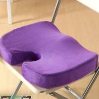 Memory Foam Seat Cushion Back Pain Relief Orthopedic Pillow Office Chair Coccyx