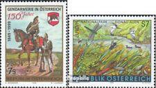 Österreich 2287,2288 (kompl.Ausg.) gestempelt 1999 Gendarmerie, Europa