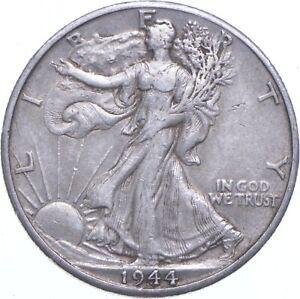 1944-D Walking Liberty 90% Silver US Half Dollar *637