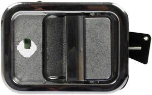 FIT 2003-2010 FREIGHTLINER COLUMBIA DRIVER LEFT FRONT BLACK & CHROME DOOR HANDLE